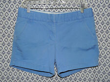 J. Crew Women's 100% Cotton Khakis Broken-In Chino Casual Blue Shorts~Size 6