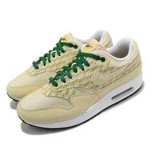 Nike Air Max 1 PRM Lemonade 2020 Pine Green Men Casual Shoes Sneakers CJ0609-700