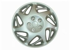 "Silver Tornado Wheel Trim Set 13"" Inch Tire Car Trims Covers Caps Estilo 62791"