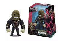"DC Jada Toys Metal Die Cast 4"" Killer Croc Black Brown Costume New Box M22"
