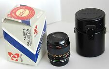 YASHICA MACRO 55mm f2.8 lens