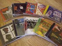 10x music cds lot Hard Rock disc Gorillaz stone temple prodigy stone temple