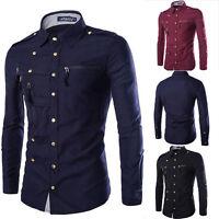 Neu Herrenhemd Freizeithemd Slim Fit Hemd Kurzarm Shirt Wear Kleidung M-XXL HOT