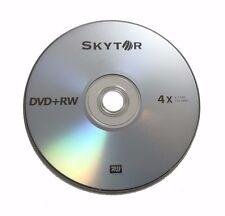 25 SKYTOR 4X DVD+RW DVDRW ReWritable Disc 4.7GB Branded Logo
