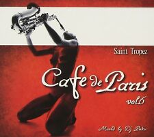 Cafe De Paris Saint Tropez 6    2CDs Tosca Re:Jazz Parov Stelar