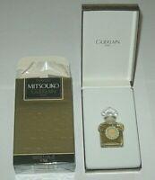"Vintage Guerlain Mitsouko Perfume Bottle & Boxes 1/4 OZ Sealed Full - 2"" Height"