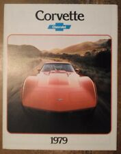 CHEVROLET CORVETTE orig 1979 USA Mkt Sales Brochure