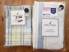 NEW Nautica Hamilton Queen Bed Skirt w/Coordinating Standard Pillow Sham $110
