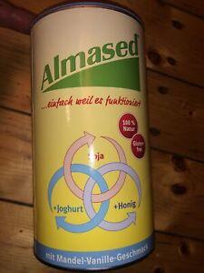 ALMASED Vitalkost lactosefrei Pulver 500 g Mandel Vanille Geschmack NEU