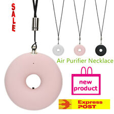 Air Purifier Necklace Freshener Wearable Portable Mini USB Remover US
