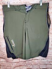 O'Neill SuperFreak Green/Black Boardshorts Swimsuit Zip Pocket Size 33