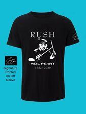 Neil Peart ( Rush ) Tribute T Shirt