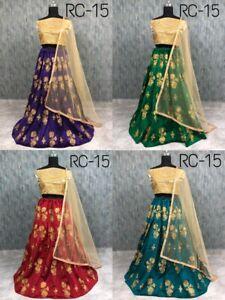 Choli Lehenga Lengha Indian Wedding Wear Pakistani Party Designer Sari New S