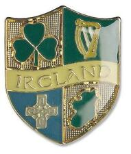 Four Symbol Ireland Design Pin - A Souvenir Of Ireland