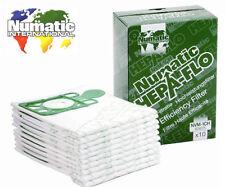 Genuine 4 x PACK Numatic Hepa-flo Hoover sacchetti per aspirapolvere Henry Hetty James NVM-1CH