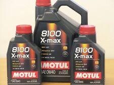 10,29 €/L MOTUL 8100 X-MAX 0w-40 7 L Vollsyn ad alte prestazioni Dl MOTORE