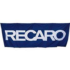 Collectible Recaro Hoist Flag 150 x 420 cm 4'11.06 x 13'9.39 Blue & white New