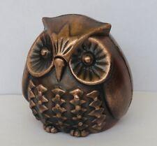 Die Cast Metal Collectible Desk Top Pencil Sharpener   Owl  New in Box