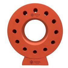 Surya Yoga Wheel - Ergonomically-Designed to Improve Flexibility & Strength