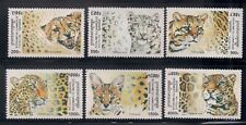 Cambodia  1998   Sc # 1782-87  Wild Cats    MNH  OG   (1335)