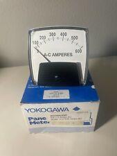 New Yokogawa 250 340 Lssf 0 500 Ac Amperes Meter