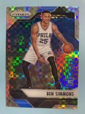 2016-17 Panini Prizm #1 Ben Simmons Starburst Prizms 76ers Rookie Card RC