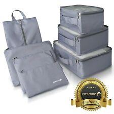 Fosmon armazenamento de viagem [3] [3 Lavanderia] [1] Sapato Bolsa Bagagem Organizador embalagem Cubo
