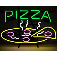 "New Pizza Shop Hamburger Business Open Man Cave Neon Light Sign 24""x20"""