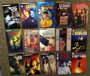 Lot of 15 Anne Rice Related Comic Books. Lestat, Interview With a Vampire