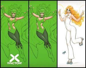 🔥🚨 X-Factor #9 David Nakayama Polaris Dazzler Variant Set Trade/Virgin Presale
