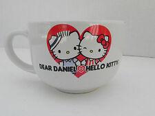 Sanrio Dear Daniel Hello Kitty Large Coffee Mug Cup Soup Oversized
