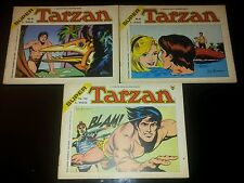 Lotto 3 TARZAN Super n. 8 9 10 - Ed. Cenisio Ottimi 1975 bimestrale orizzontale