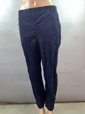 Adidas Womens Outdoor Terrex Hiking 7/8 Navy Blue Pants Sample Small