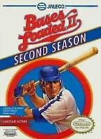 Bases Loaded II Second Season Nintendo NES Game Used