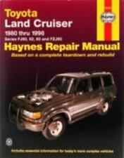 Toyota Landcruiser Series FJ60, 62, 80 and FZJ80, 1980-1996: By Haynes, John