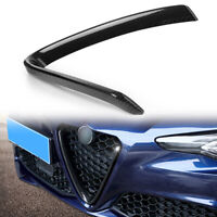Front Bumper Grill Grille Decor Trim Strip for Alfa Romeo Giulia Carbon Fiber gk