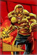 1993 Marvel Skybox Foil Trading Card F9: Tiger Wylde 2099