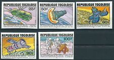 Togo - Jahrestage der Raumfahrt postfrisch 1981 Mi. 1577-1581 B
