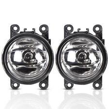 Pair Fog Light Lamps w/H11 Bulbs Clear Lens For Acura Honda Ford Nissan WT