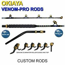 OKIAYA PACBAY BENT BUTT 50-80lb PAC BAY VENOM PRO Rod For PENN OR TIAGRA SHIMANO