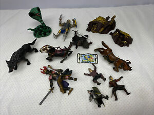 Schleigh Castle Figures Knights & Horses Lot