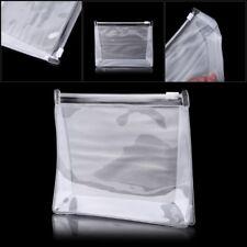 Transparent Cosmetic Bag Portable Waterproof PVC ZIPPER Travel Makeup Organizer