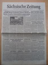 SÄCHSISCHE ZEITUNG 4. Januar 1990 Donnerstag Einheitsfront gegen rechts Berlin