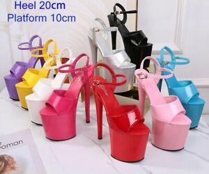 Stripper Shoes High Heels Pole Dance Women Party Wedding Club Sandles