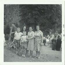 GREEK FAMILY IN MOUNTAIN VILLAGE PHOTO – 1965 - GREECE – PHOTOGRAPH - HELLAS
