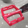 1 Pair 9/16in Mountain Bike Pedals For BMX Road MTB Bicycle Aluminum Lightweight