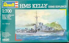 Sealed Revell (ex- Matchbox) 1:700 scale HMS Kelly waterline plastic model kit