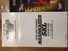 Bandai Chogokin SRC Mazinkaiser SKL Starter Pack original Japan