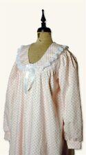 Victorian Trading Co Rosebud Flannel Nightie Night Gown XL  NIB