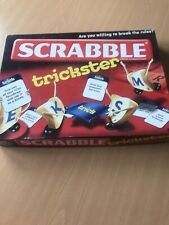 Scrabble Trickster Board Game, Mattel 2010 edn, preowned and rarely used. VGC